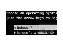Dual Boot ta Windows 7 nin Kaybolması