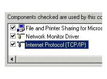 TCP/IP ayarlarını geri yüklemek