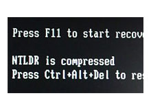 NTLDR is compressed