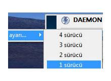 Daemon Tools Lite ile Iso dosyalarını Mount etme