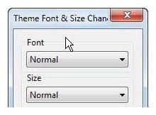 Mozilla Firefox un yazı tipini ve boyutu değiştirme