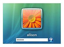 Varsayılan login resmi olan çiçeği değiştirelim