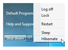 hibernate_on