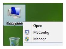 Bilgisayarım sağ tuş menüsüne program kısayolu