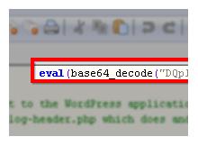 WordPressten base64_decode zararlısının temizliği