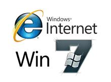 Windows 7 de internet explorer 8 çalıştırmak