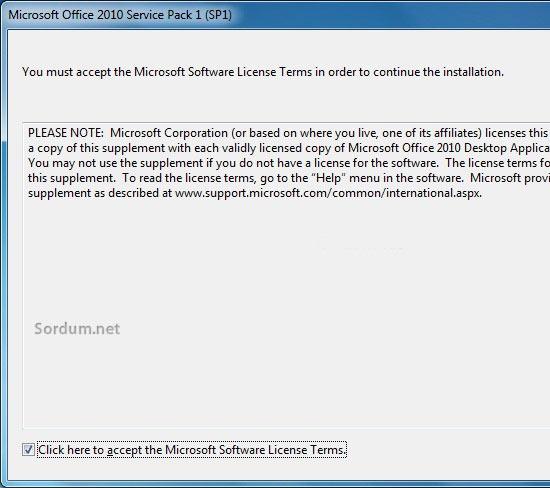 Office 2010 a sp2 entegresi 1