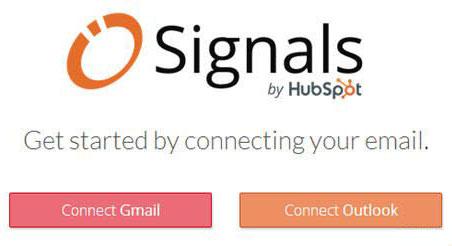 Signals kurulumunda emailini seç