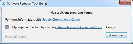 no suspicious
