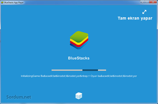 bluestacks tam ekran
