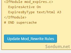 Mod rewrite rules