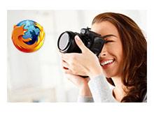 Firefoxta bir sayfanın tam ekran görüntüsünü alalım