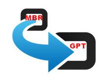 MBR yi GPT ye veri kaybı olmadan çevirelim
