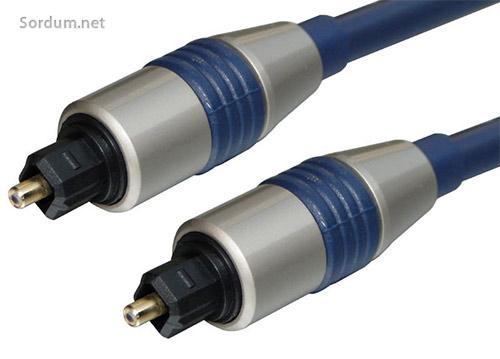 Optik dijital ses kablosu