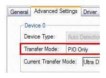 Aniden yavaşlayan HDD – CD/DVD rom sorunu (PIO modu)