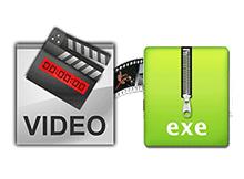 Video dosyalarinizi .exe yapin