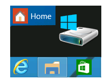 Windows 10 da Dosya gezginine tıklandığında bilgisayarım açılsın