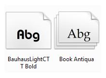 Windows Fontlarını kolayca silip yedekleyin