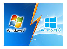 Windows 8 in Windows 7 den farkları