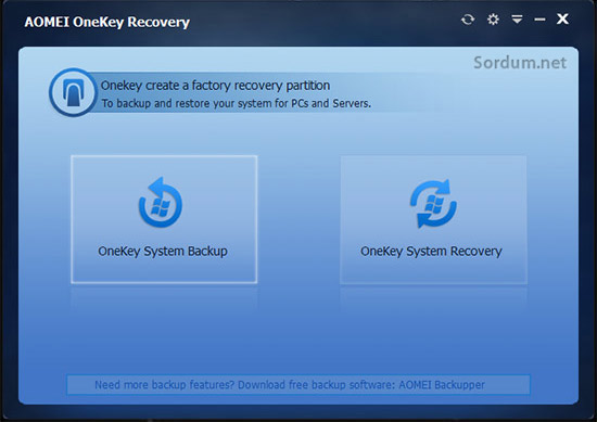 AOMEI-OneKey-Recovery