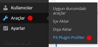 p3 plugin profiler