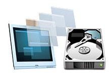 Dsik yönetimi ile sanal sabit disk (VHD)