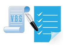 vbs ile sıralı listeleme