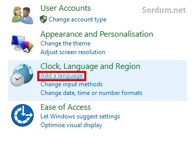 Add language