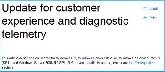 Windows 7 ve 8 veri toplama