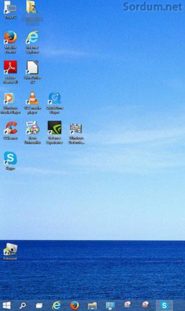 Windows 10 ikon pozisyonunu hatırlamıyor