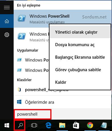 powershell nasıl çalışır