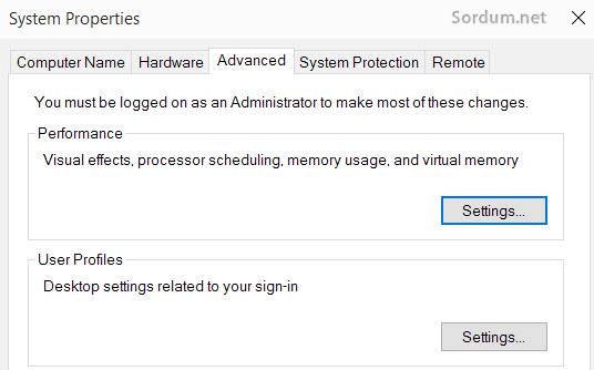 windows 10 yüksek DPI bulanık font düzeldi