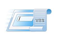 Windows bileşenlerine ulaşalım vbs