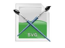 SVG dosyasını programsız şeffaf Png yapalım