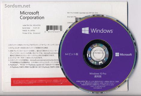 windows Oem örneği