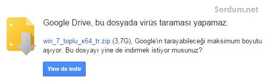 google drive indirme sayısı