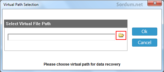 virtual path selection