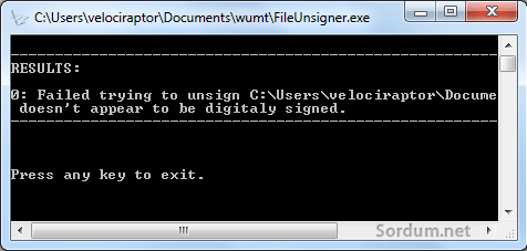 Dijital imzayı silmek