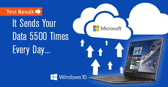 Windows 10 verilerinizi çalıyor