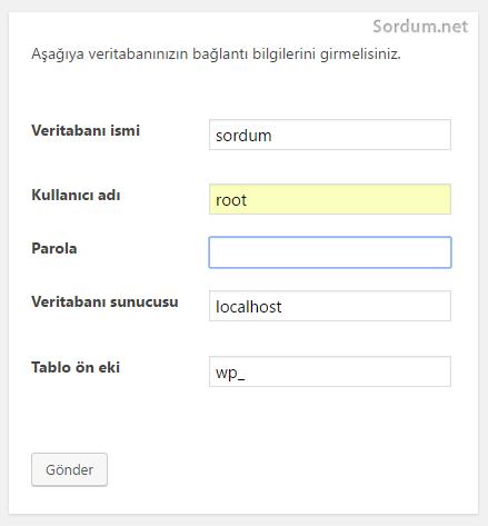 easyphp wordpress kurulumu