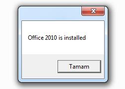 kurulu office versionu