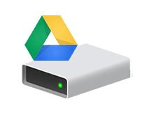 Google drive ı dizin olarak ekleyelim