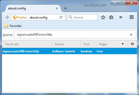 firefox http için otomatik tamamlamayı açmak