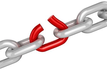 kırık link