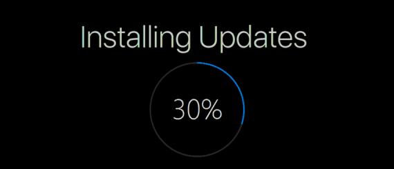 windows güncelleniyor