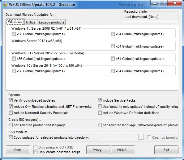 WSUS offline Update