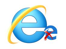İnternet explorerdeki Edge yi aç butonunu kaldıralım