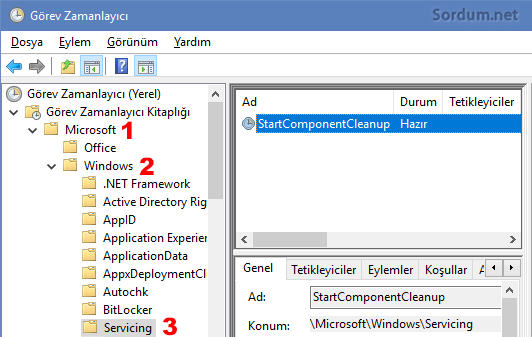 Start Component Cleanup