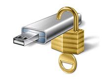 USb belleğe şifre koruması