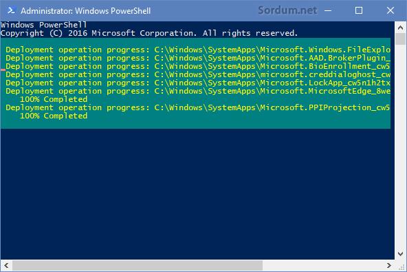 Windows 10 modern uygulamaları topluca kuralım